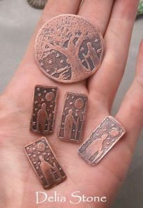 copper etching instructions -very good