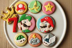 マリオとルイージのアイシングクッキー|レシピブログ