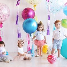 "149 Likes, 11 Comments - Alli (@helloallisonjones) on Instagram: ""Balloons! Balloons!!! Such a great shoot in @littleonemag you can't go wrong with toddlers and…"""