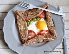 Dans la cuisine d'Hilary: Galette de sarrasin au chorizo, poivron, oeuf et e...