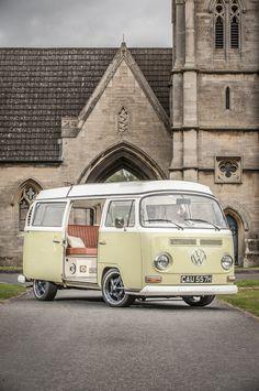 Clara the VW camper van