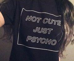 Psycho, grunge, and black -kuva