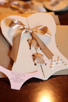 bachelorette party invitation - for lingerie theme party