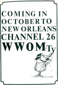 WWOM WGNO-TV Channel 26 - October 14 1967