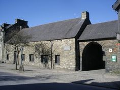 Owain Glyndwr's first Welsh Parliment Building in Machynlleth, Mid Wales. Built in 1404 AD.
