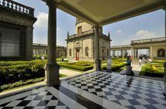 Los Impecables Jardines del Castillo de Chapultepec, Ciudad de México. Distrito Federal.