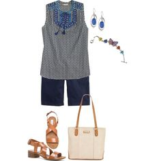 Untitled #736 by texasgal50 on Polyvore featuring J.Crew, Steve Madden, Marc Fisher and Lucky Brand