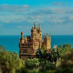 Castillo de Colomares #Benalmadena #Malaga #amazing #sculptures #funtime #costadelsol #hidden #treasure #falconry