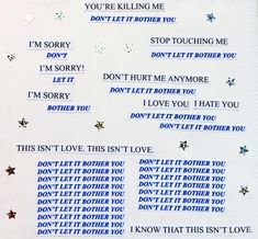 send me love letters Look At You, Love You, Let It Be, My Love, Dont Hurt Me, Blue Aesthetic, My Guy, Trauma, It Hurts