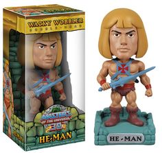 Masters Of The Universe Wacky Wobbler He-Man. By The power of Gray Skull You have the power to collect all four of these classic characters in Bobble style. Shipping 12/20/2012. Pre-order now and not be charged until the item ships. Price: $11.99