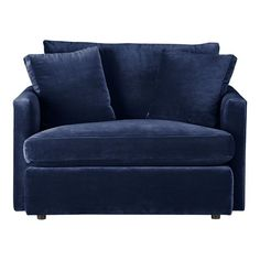 navy blue recliners from smith brothers of berne. Black Bedroom Furniture Sets. Home Design Ideas