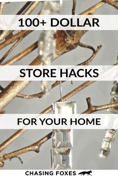I've become a bit of a connoisseur for dollar store hacks. Here are 100+ of the best ones that are simply ingenious! #ChasingFoxes #DollarStoreHacks