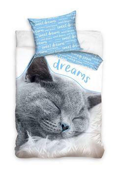 Kvalitné obliečky na posteľ Sweet Dreams, Cats, Animals, Gatos, Animales, Animaux, Animal, Cat, Animais