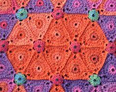 Square blanket or Afghan