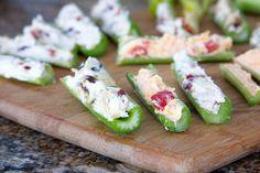 Cream Cheese Stuffed Celery   3 Ways recipe pictures