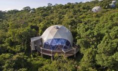 The low-impact, high-style Highlands camp in Tanzania is made up of eight dome-shaped tents.