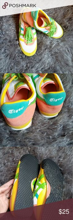 Asics Onitsuka Tigers 81s Super cool, just some indentation and a little smudging on heels. Asics Shoes Sneakers