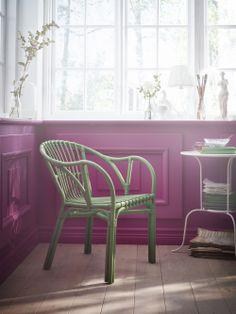 HOLMSEL stol er en nyhed hos IKEA