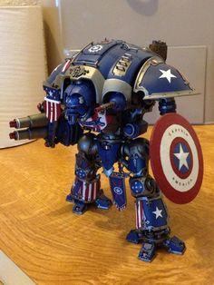 Captain America Imperial Knight
