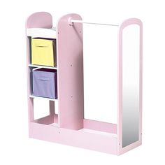 Perfect to store the dress-up clothes in the playroom!