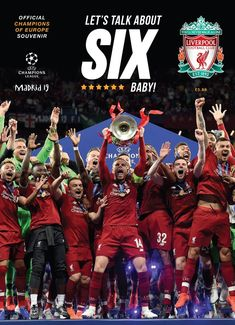 Kindle: Liverpool FC: Champions of Europe 2019 - Official Souvenir Magazine : Free eBook Liverpool FC: Champions of Europe 2019 - Official Souvenir Magazine Author Liverpool Football Club Liverpool Anfield, Liverpool Fans, Liverpool Football Club, Liverpool Tattoo, Liverpool History, Liverpool Players, Liverpool Fc Wallpaper, Liverpool Wallpapers, Lfc Wallpaper