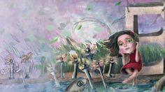"Imaxes do novo libro de Miguel Ángel Alonso Diz e Luz Beloso. Titulado: ""O soño de Esther"". Miguel Angel, Stop Motion, Nova, Painting, Videos, Duct Tape, Musica, Illustrations, Paintings"