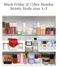 Black Friday & Cyber Monday Beauty Deals 2019 A-Z - Cali Beaute Becca Cosmetics, Colourpop Cosmetics, Sephora Haul, Hair Fixing, Kylie Cosmetic, Makeup Must Haves, Holiday Hairstyles, Makeup Swatches, Drugstore Makeup
