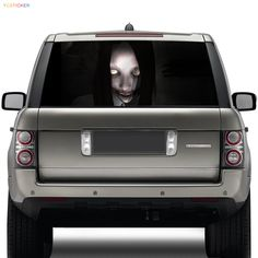 Personalized Skull Head Car Vinyl Wrap Stickermikiycstickercom - Car window stickers printing