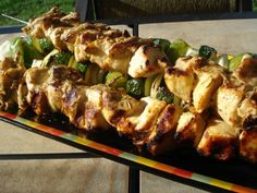 Rosemary Ranch Chicken Kabobs...these look great but the whole site has great recipes.