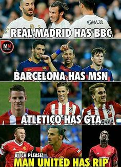 Yes every team has a trio