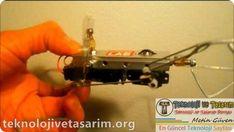Basit yürüyen robot yapımı tek motorlu