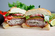 Bacon Wrapped Jalapeno Popper Burgers
