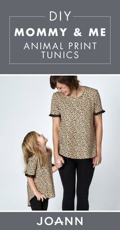 917bc7e3085c9 Bring out your wild side by rocking these Mommy and Me Matching Animal  Print Tunics!