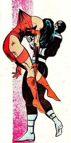 DAREDEVIL #181 (April 1982)   Art by Frank Miller & Klaus Janson   Words by Frank Miller