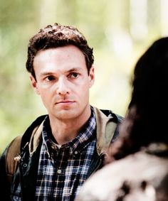 """garethgrimes: """"Aaron in 'Conquer' """" Walking Dead 4, Keep Walking, Ross Marquand, Eugene Porter, My Boyfriend, Tv Series, Archive, Characters, My Friend"""