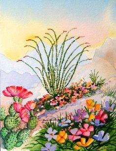 Barbara Ann Spencer Watercolor