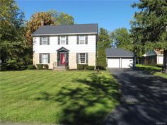 This beautiful classic Four bedroom Colonial is conveniently located  just outside the Village.   An easy walk to restaurants, movie theater, bars, bowling etc.  This home is perfect for entertaining, either outside in the large yard or on two patio areas.  Huge family room features a wood burning fireplace, bay window, built-in bookshelves and enough room for a game table.  Living room also as wood burning fireplace and built-in bookshelves. Most of the house has hardwood floors.  There…