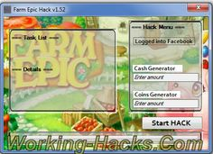 Farm Epic Hack tool working!