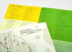 Alejandro Largo – Strategically-driven Brand Designer › Eco-Map of the Upper East Side Graphic Design Inspiration, Creative Inspiration, Design Ideas, Brochure Design, Branding Design, Manhattan Map, City Branding, Restaurant Marketing, Upper East Side