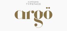 argo free font download