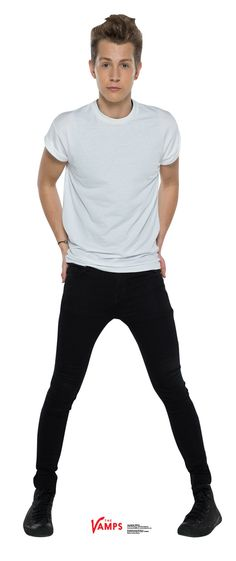 James McVey from the Vamps Life Size Cardboard Cutout Standup Cute Boys, My Boys, Life Size Cardboard Cutouts, Will Simpson, James 3, Bradley Simpson, New Hope Club, The Next Step, Pop Bands