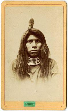 Paiute man - no date