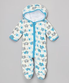 This Blue Elephant Bunting - Infant is perfect! #zulilyfinds