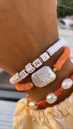 Neon Bracelets, Stretch Bracelets, Handmade Bracelets, Jewelry Bracelets, Jewelery, Stack Bracelets, Unique Bracelets, Diy Jewelry, Beaded Jewelry