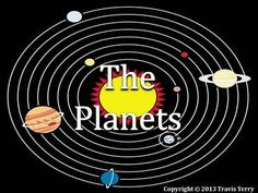 82 slides! This is an awesome powerpoint that covers information about all eight planets, the Earth's Moon and the Galilean Moons. This video has motions, animations and 50 minutes of total video. The videos include a special video for each planet and also a short video biography about Galileo Galilei. The videos are embedded and linked from the NASA channel and the University of Nottingham (Sixty Symbols)