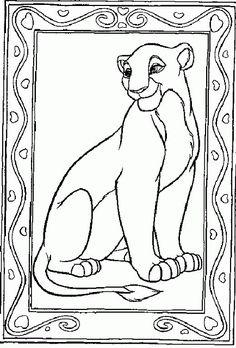 96 Fantastiche Immagini Su Il Re Leone Disegni Da Colorare