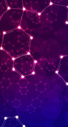 Science Chemistry Wallpaper 46 New Ideas Wallpaper Gamer, Geometric Wallpaper Iphone, Purple Wallpaper, Wallpaper Backgrounds, Galaxy Wallpaper, Wallpaper Ideas, Iphone Wallpapers, Chemistry Drawing, Science Chemistry