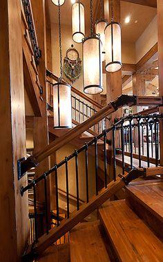 Mountain Home Staircase