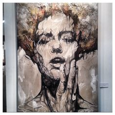 We've been introduced to the #artwork of #DannyOconnor by @Villadelarte (booth 224) at the #LAArtShow. Check it out!