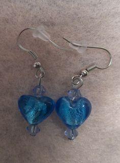 Blue Ice glass $7.00